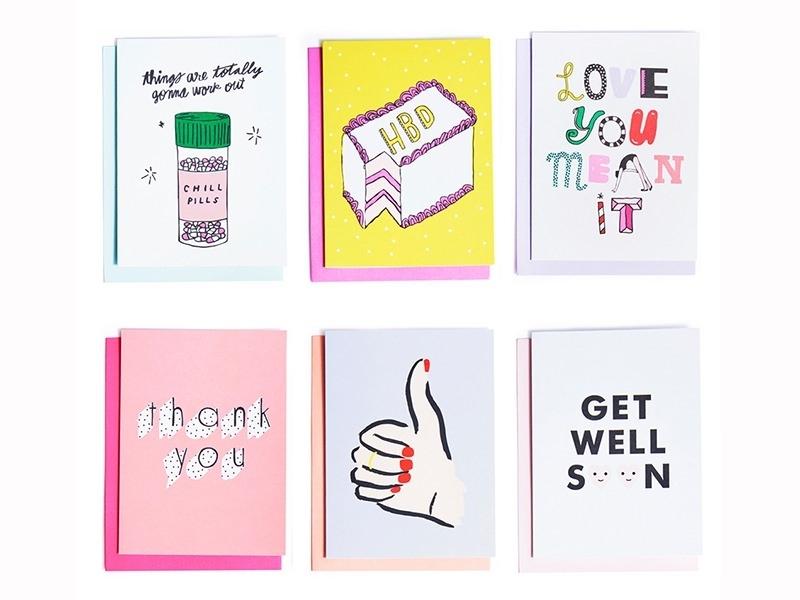 """18 cards - """"Hey girl, hey"""""""