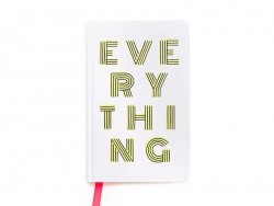 "Carnet journal ""Everything"""