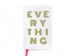 """Notizbuch - """"Everything"""""""