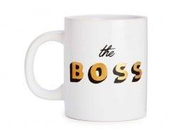 """Mug """"The boss"""""""