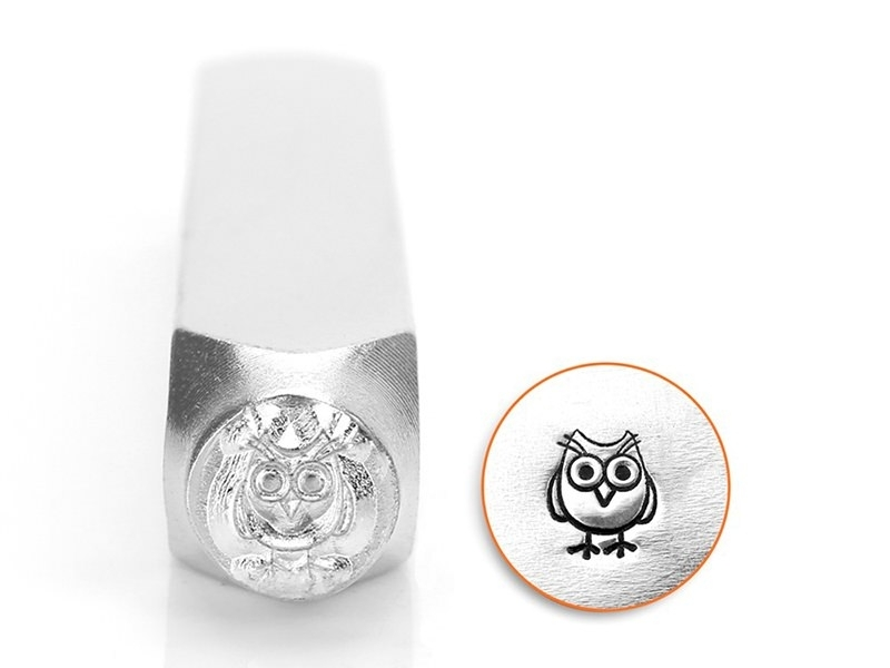 Metal stamp - Owl