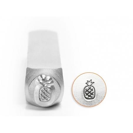 Metal stamp - pineapple