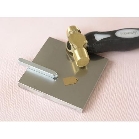 Acheter Petit support à frapper en métal - 14,90€ en ligne sur La Petite Epicerie - 100% Loisirs créatifs