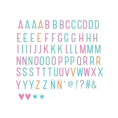 Acheter Accessoires lightbox - alphabet pastel - 2,99€ en ligne sur La Petite Epicerie - Loisirs créatifs
