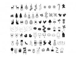 Lightboxzubehör - feierliche Illustrationen