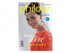 Mini magazine - Phildar no. 606 (in French)