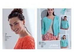 Mini magazine - Phildar no. 606 (in French)