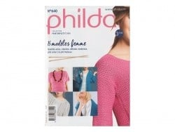 Minizeitschrift - Phildar Nr. 640 (auf Französisch)