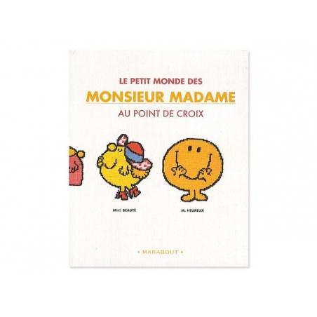 Le petit monde de Monsieur Madame au point de croix (in French)