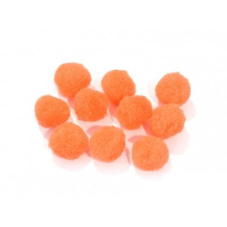 Acheter Pompon orange fluo - 25 mm - 0,19€ en ligne sur La Petite Epicerie - Loisirs créatifs