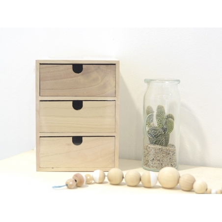 Acheter Caisse à tiroir à customiser - 22,90€ en ligne sur La Petite Epicerie - 100% Loisirs créatifs