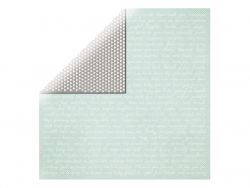 Scrapbooking paper - text/black and white triangles