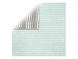 Scrapbookingpapier - Wörter/schwarz mit weißen Dreiecken