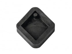 Concrete jewellery mould - Diamond