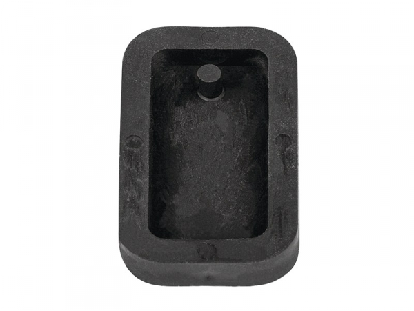 Concrete jewellery mould - Rectangle