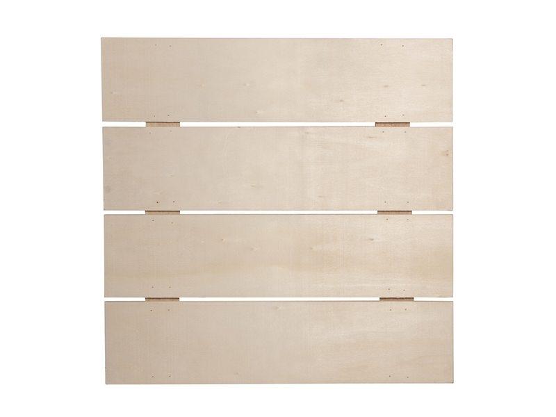 Un cadre en latte de bois à customiser