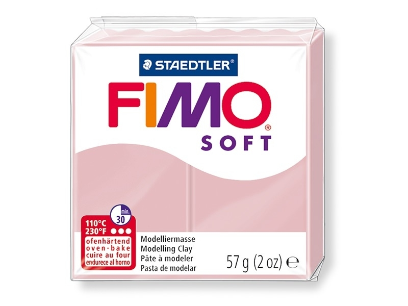 Acheter Pâte Fimo Soft Rose tendre 21 - 1,99€ en ligne sur La Petite Epicerie - 100% Loisirs créatifs