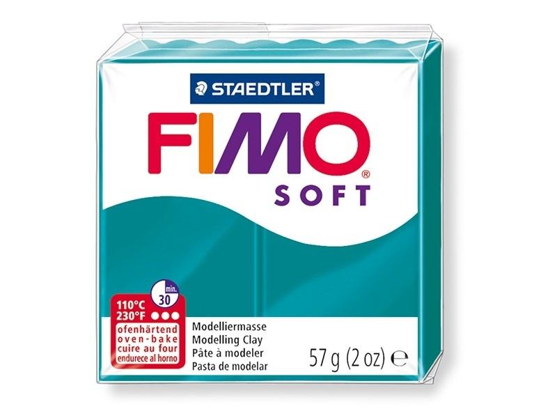 Acheter Pâte Fimo Soft Bleu pétrôle 36 - 1,99€ en ligne sur La Petite Epicerie - Loisirs créatifs