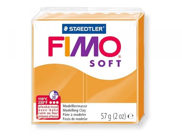 Pâte Fimo Soft Orange Clair 41 Fimo - 1