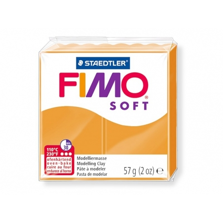 Pâte Fimo Soft Orange Clair 41