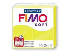 Pâte Fimo Citron vert 52 Soft