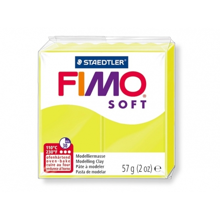 Pâte Fimo Soft Citron vert 52