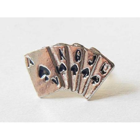 Bague Poker - cartes à jouer  - 3