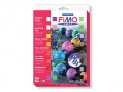 Set of 24 Fimo soft half blocks