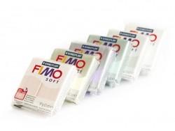 Coffret 6 pains de FIMO soft - couleurs bonbons