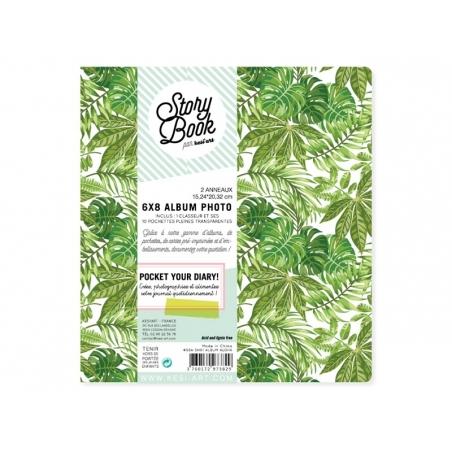 6 in x 8 in album/binder + pockets - Aloha