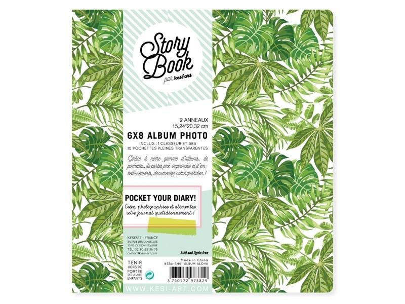 Album classeur Aloha 6*8   + pochettes