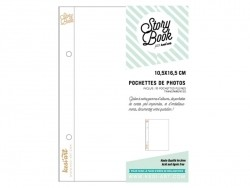 10 page protectors (6 in x 8 in) - without pockets