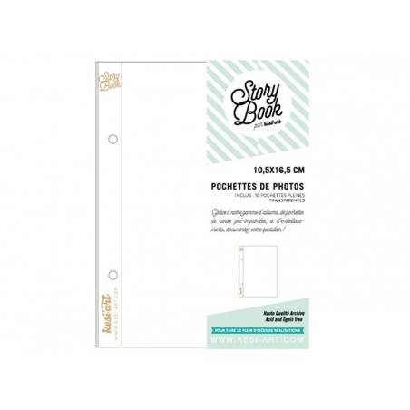 Acheter 10 pochettes pour photos 6*8 - pleines - 4,50€ en ligne sur La Petite Epicerie - 100% Loisirs créatifs
