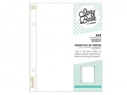 10 pochettes pour photos 6*8 - fermeture zip Kesi art - 1