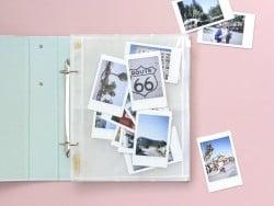 10 pochettes pour photos 6*8 - fermeture zip