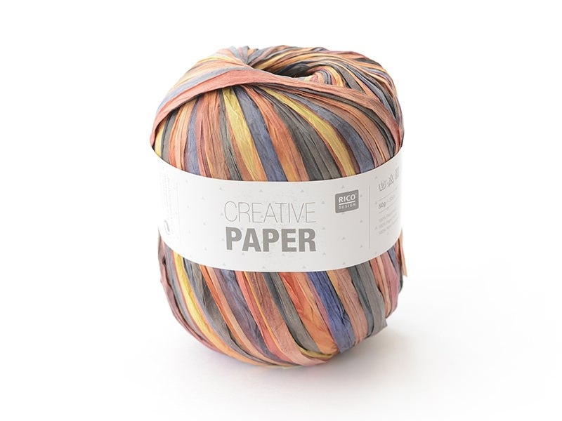 "Paper yarn - ""Creative paper"" - autumn"