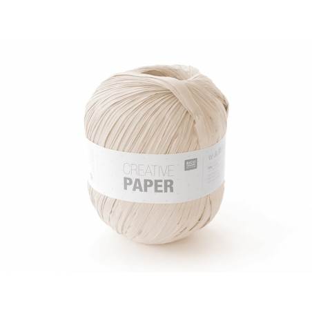 "Paper yarn - ""Creative paper"" - powder pink"