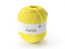 """Papiergarn - """"Creative paper"""" - Gelb"""