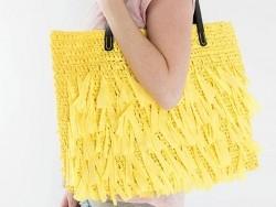 """Laine à tricoter """"Creative paper"""" - Jaune"""