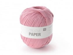 "Paper yarn - ""Creative paper"" - pink"