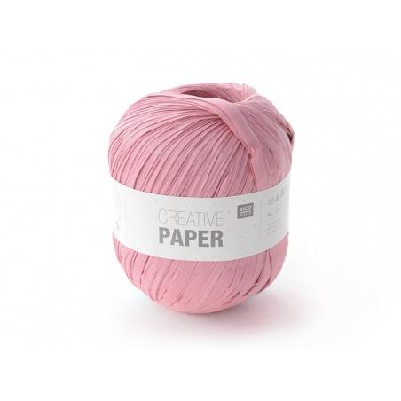 """Fil de papier """"Creative paper"""" - Rose"""