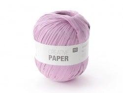 "Paper yarn - ""Creative paper"" - mauve"