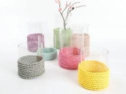 """Laine à tricoter """"Creative paper"""" - Parme"""