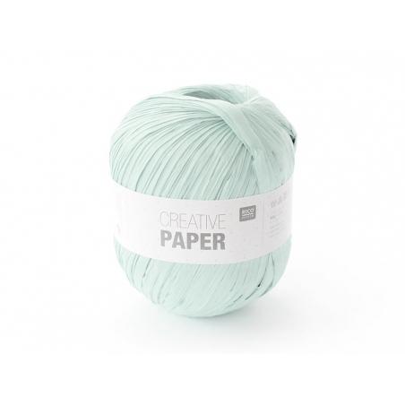"""Fil de papier """"Creative paper"""" - Vert d'eau"""