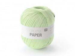 "Fil de papier ""Creative paper"" - Vert amande"