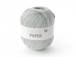 "Paper yarn - ""Creative paper"" - grey"