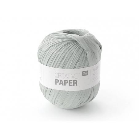 """Fil de papier """"Creative paper"""" - Gris"""