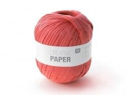 """Laine à tricoter """"Creative paper"""" - Rouge"""
