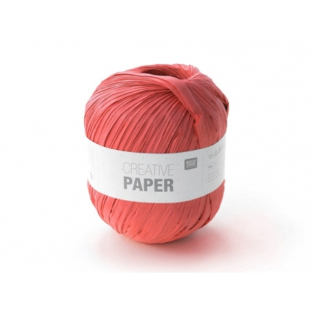 "Paper yarn - ""Creative paper"" - red"