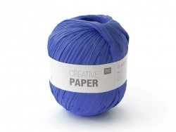 "Paper yarn - ""Creative paper"" - navy blue"